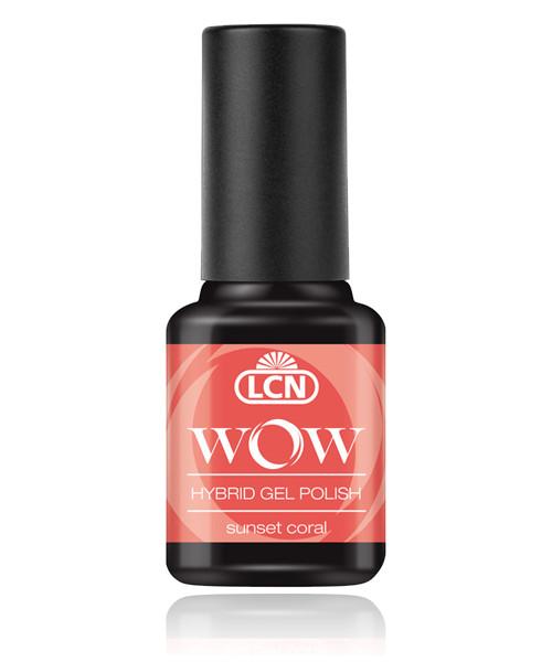 "LCN WOW Hybrid Gel Nagellack ""sunset coral"", 45077-16"