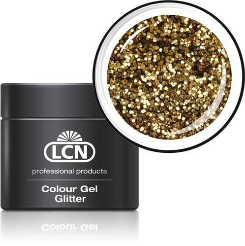 LCN Glitter Gel 20615-1 light gold