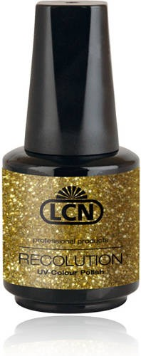 LCN Recolution Soak Off Glitter Gold