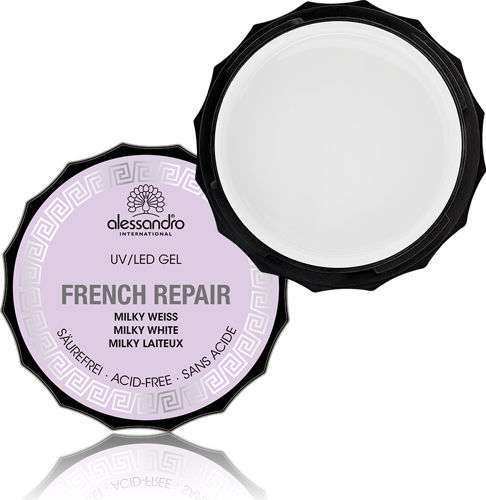 alessandro French Repair Milky Weiß UV-Repair Gel