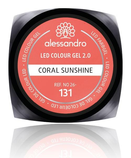 alessandro Farbgel 2.0 Coral Sunshine, 26-131