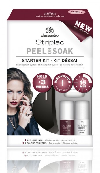 alessandro Striplac Peel or Soak Starter Kit, 48-400