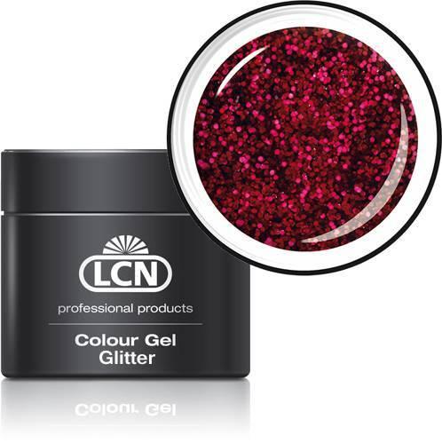 LCN Glitter Gel 20615-8 red