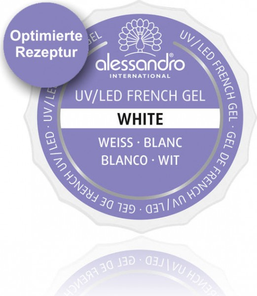 alessandro French White UV-French Gel, 01-906