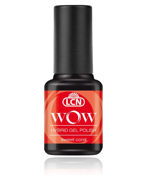 "LCN WOW Hybrid Gel Nagellack ""sweet coral"", 45077-6"