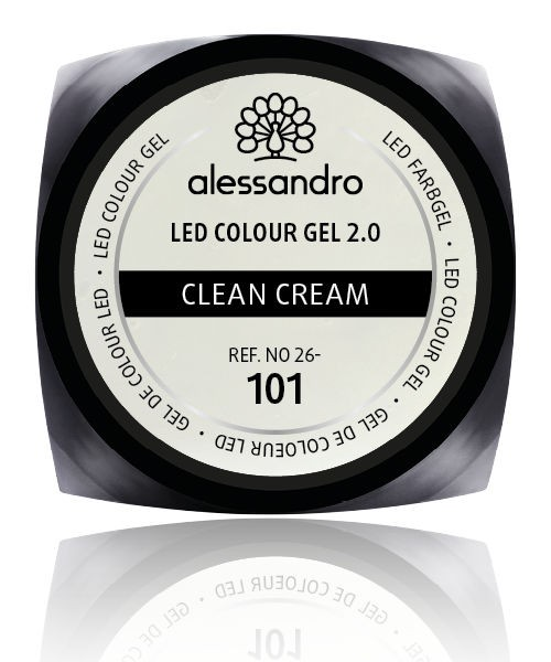 alessandro Farbgel 2.0 Clean Cream, 26-101