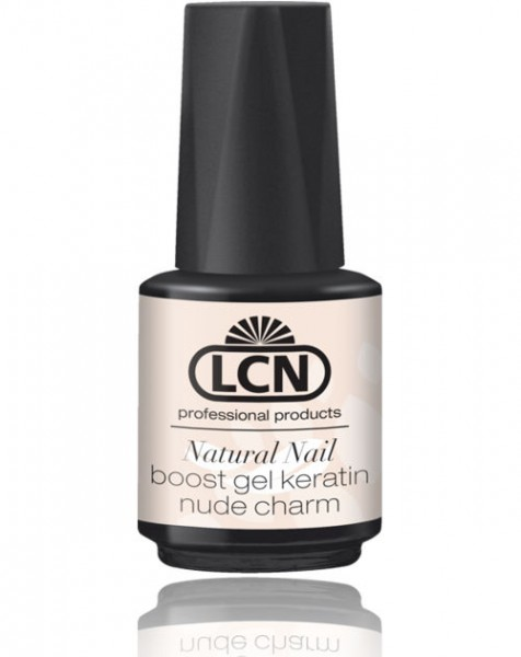 LCN Naturnagelverstärkung Natural Nail Boost Gel Nude Charm Keratin, 91180
