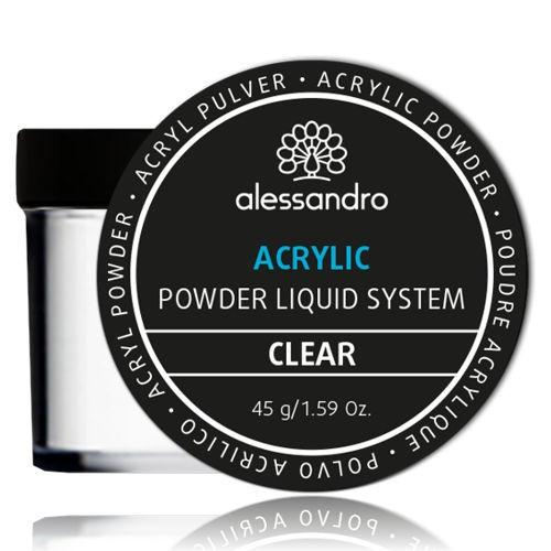 alessandro Acrylic Powder, clear, 01-635