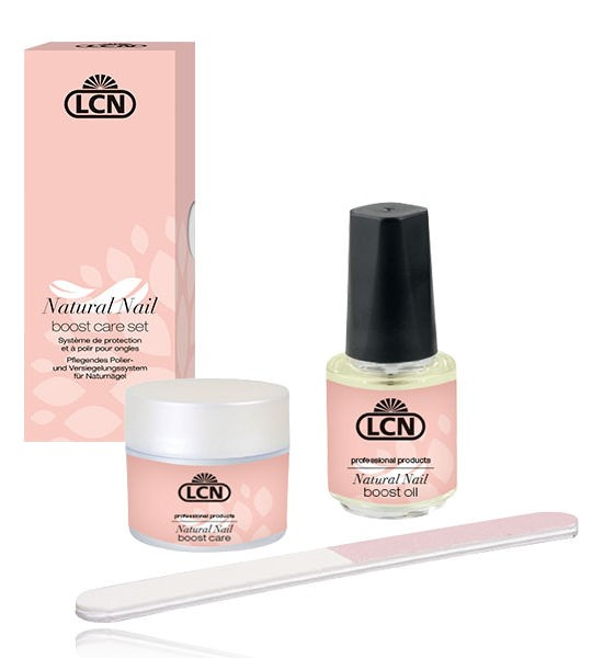 LCN Natural Nail Boost Care Set