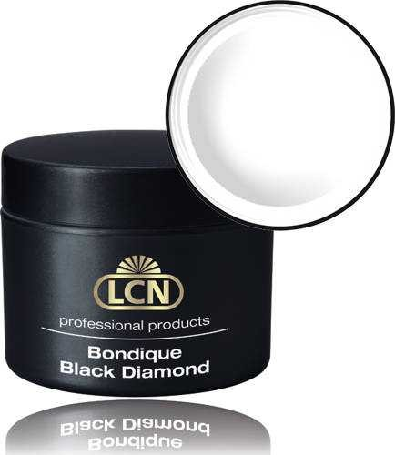 LCN Aufbaugel Bondique Black Diamond clear