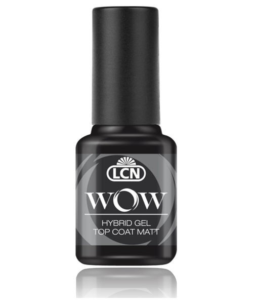 LCN WOW Hybrid Gel Nagellack Top Coat Matt, 45152