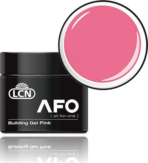 LCN AFO Building Gel Pink, UV-Aufbaugel, 21381