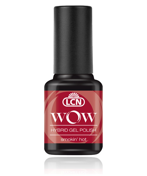 "LCN WOW Hybrid Gel Nagellack ""smokin hot"", 45077-8"