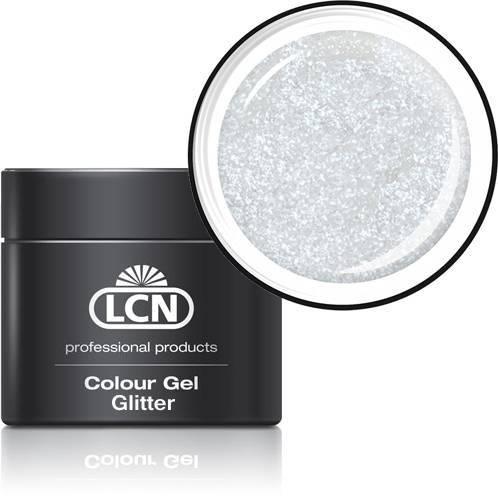 LCN Glitter Gel 20615-3 white