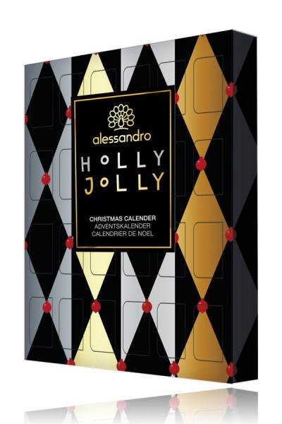 alessandro Holly Jolly XS Adventskalender Knusperkugeln, 21-336