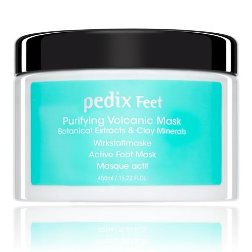alessandro Pedix Feet Purifying Vulkan-Fußmaske, 64-062