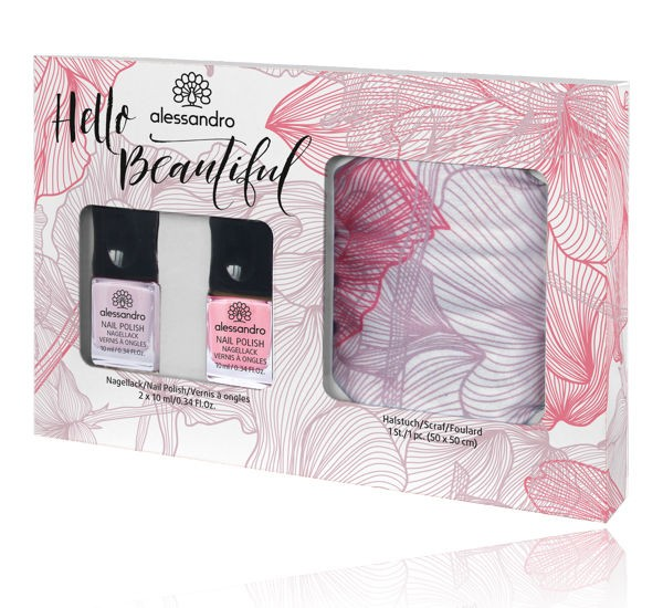 alessandro Nagellack Hello Beautiful Fashion Set, 21-395