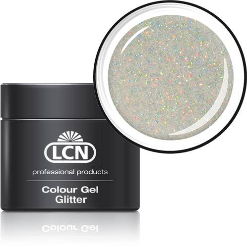 LCN Glitter Gel 20615-15 hologram coated silver