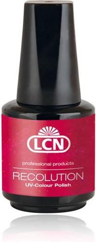 LCN Recolution Soak Off Sparkling Neon Pink