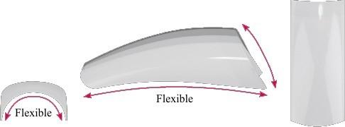 LCN Tips Flexible, sortiert, Größe 1-10, 30712
