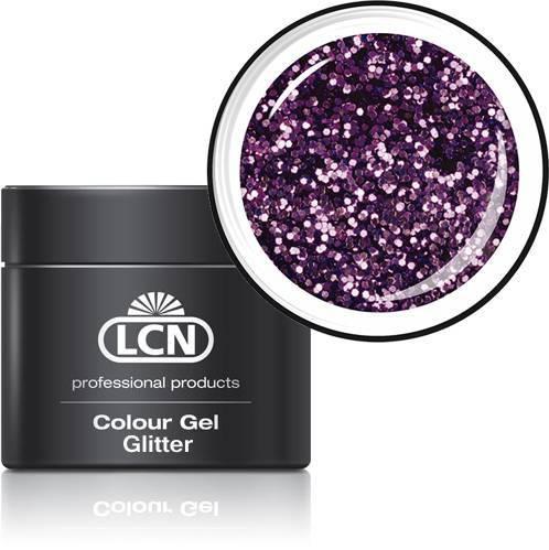 LCN Glitter Gel 20615-5 lavender