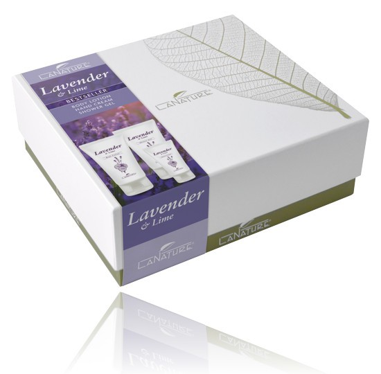 LaNature Geschenkbox Lavender & Lime, 1410195
