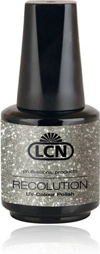 LCN Recolution Soak Off Glitter Silver