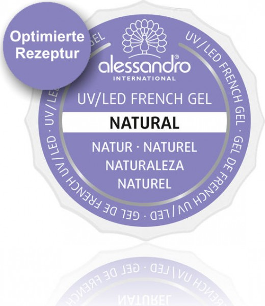 alessandro French Natural White UV-French Gel, 01-907