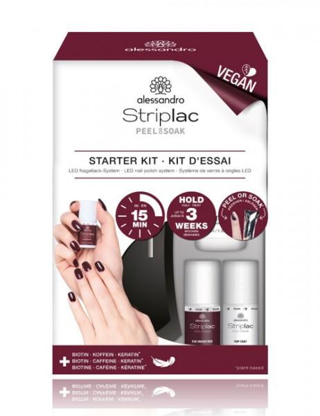 alessandro Striplac Peel or Soak Starter Kit, 48-400