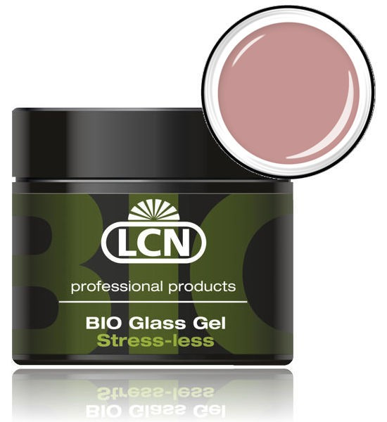 LCN Aufbaugel Bio Glass Gel Stress-Less Nude, 91529-2