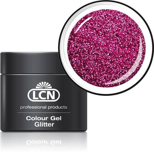 LCN Glitter Gel 20615-19 pink passion