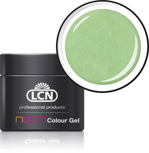 21180-4 glitter yellow LCN Neon Farbgel