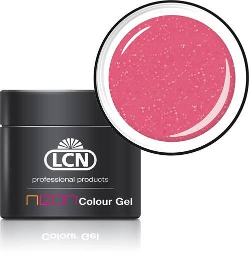 21180-5 glitter pink LCN Neon Farbgel