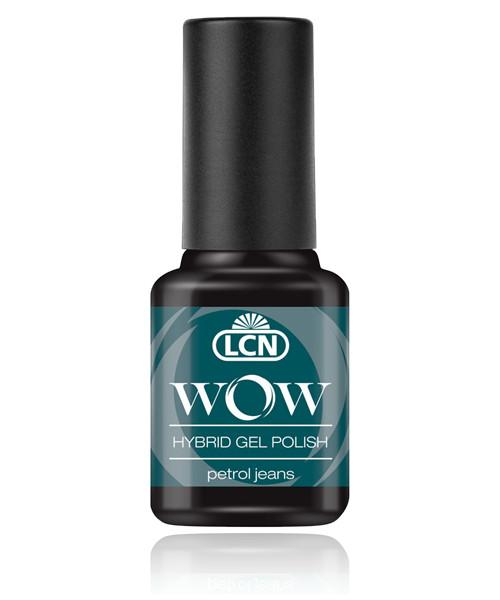 "LCN WOW Hybrid Gel Nagellack ""petrol jeans"", 45077-23"