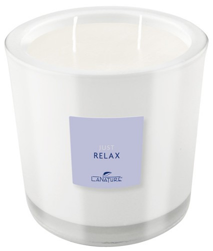Duftkerze LaNature im Glas, 2 Dochte, Relax, 1404016w