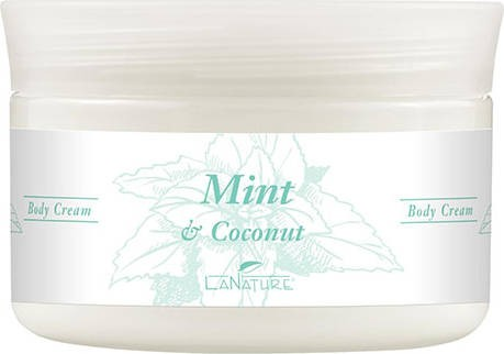 LaNature Body Cream, Mint & Coconut, 1410155