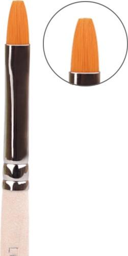 LCN Modellage Pinsel, flache Spitze, 20086-3