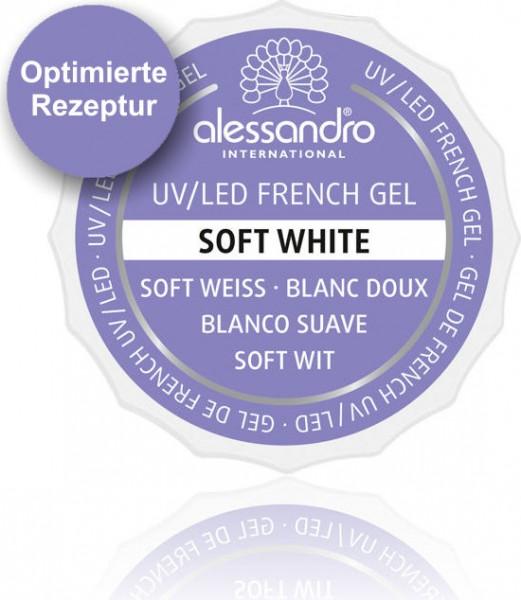 alessandro French Soft White UV-French Gel, 01-908