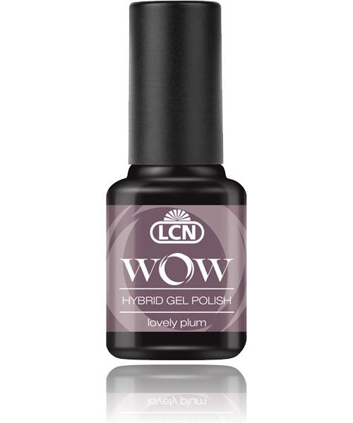 """LCN WOW Hybrid Gel Nagellack """"lovely plum"""", 45077-28"""
