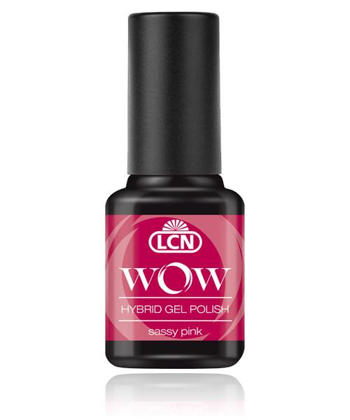 "LCN WOW Hybrid Gel Nagellack ""sassy pink"", 45077-12"