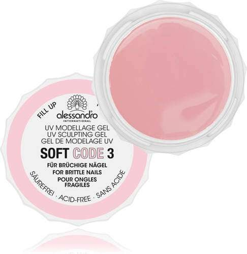 alessandro Modellagegel Soft Code Gel 3, 01-948