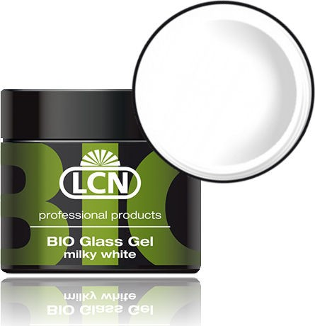 LCN Aufbaugel Bio Glass Gel milky white, 21382