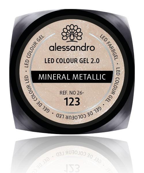 alessandro Farbgel 2.0 Mineral Metallic, 26-123