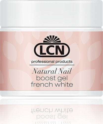 LCN Natural Nail Boost Gel French White, 21374